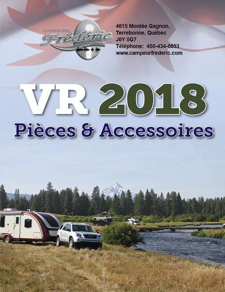 RV spare parts catalog for 2018